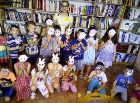 Предшколци у Библиотеци