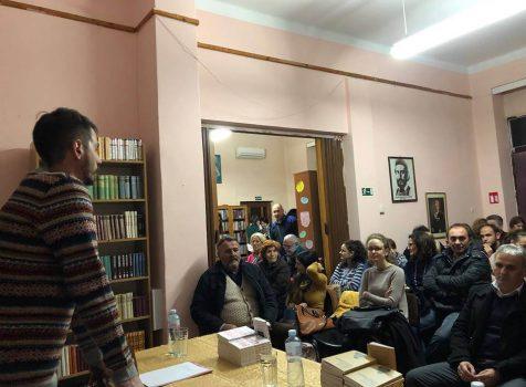 Књижевно вече са Бојаном Кривокапићем 28. новембар 2018.